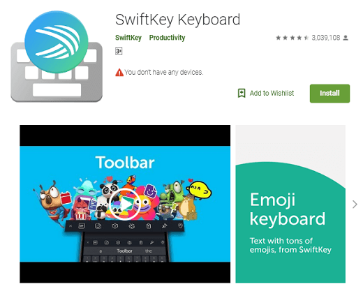 Swift Keyboard
