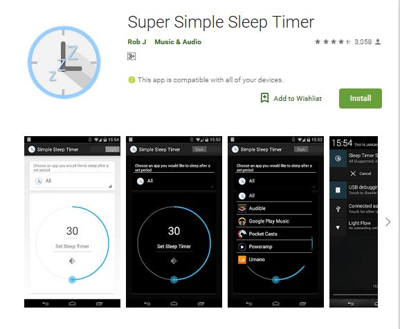 Sleep Timer