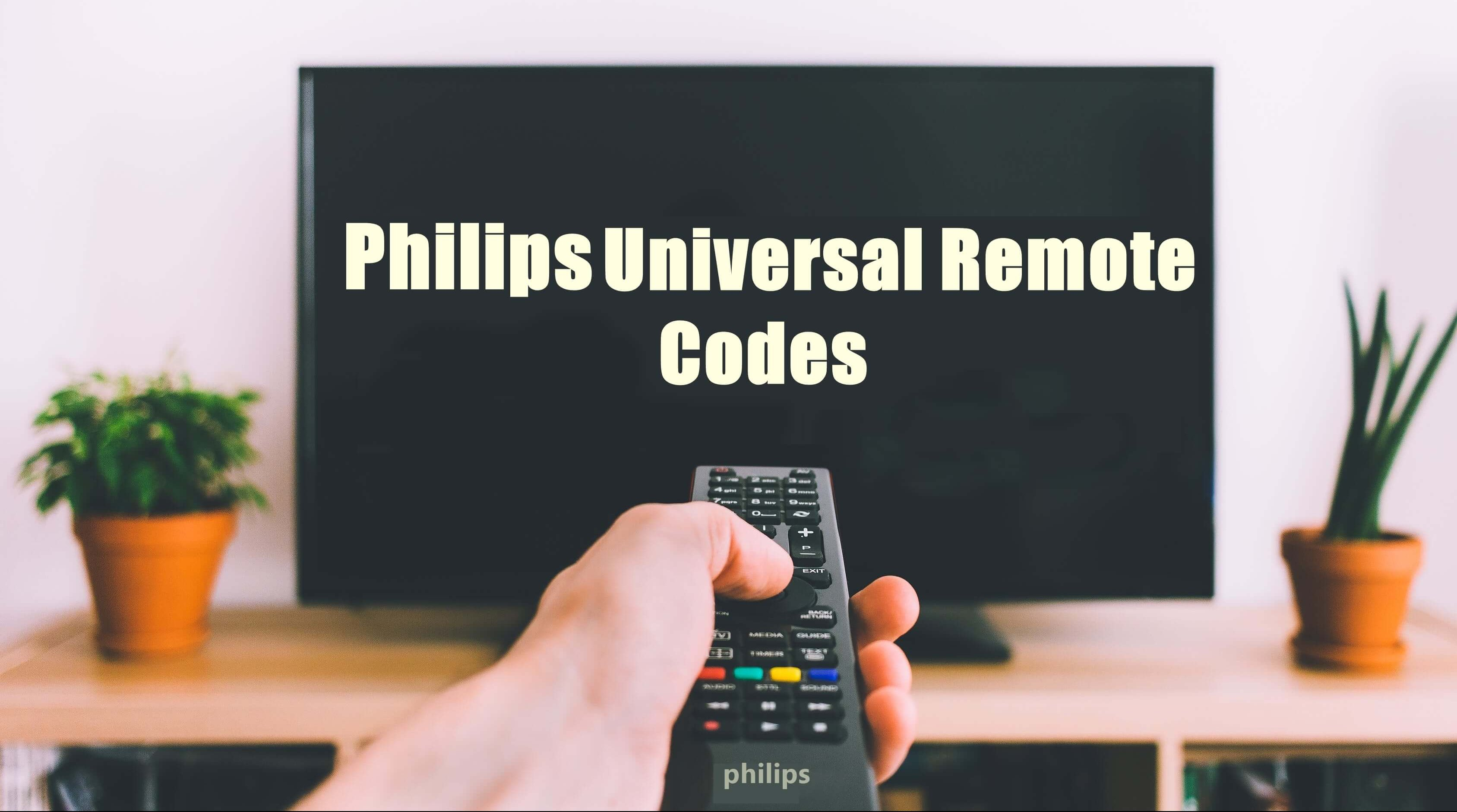 Philips Universal Remote Codes cl035a [Instructions 2019