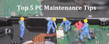 top 5 pc maintenance tips