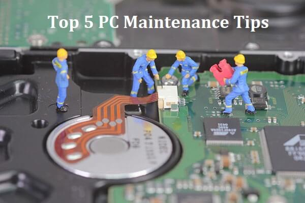 top 5 pc maintenance tips